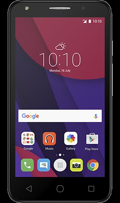 Alcatel Pixi 4 (5) 5045DСмартфоны<br>2G, 3G, 4G, Wi-Fi; ОС Android; Дисплей сенсорный емкостный 16,7 млн цв. 5; Камера 8 Mpix; Разъем для карт памяти; MP3, FM,  GPS; Время работы 500 ч. / 12.0 ч.; Вес 165 г.<br><br>Colour: Оранжевый