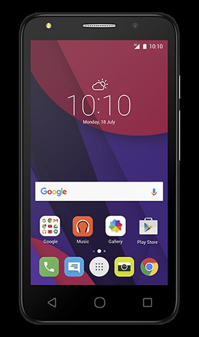 Alcatel Pixi 4 (5) 5045DСмартфоны<br>2G, 3G, 4G, Wi-Fi; ОС Android; Дисплей сенсорный емкостный 16,7 млн цв. 5; Камера 8 Mpix; Разъем для карт памяти; MP3, FM,  GPS; Время работы 500 ч. / 12.0 ч.; Вес 165 г.<br><br>Colour: Серый