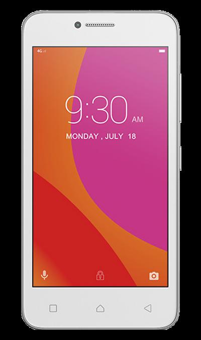 Lenovo Vibe BСмартфоны<br>2G, 3G, 4G, Wi-Fi; ОС Android; Дисплей сенсорный емкостный 16,7 млн цв. 4.5; Камера 5 Mpix; Разъем для карт памяти; MP3, FM,  GPS; Время работы 175 ч. / 11.3 ч.; Вес 145 г.<br><br>Colour: Белый