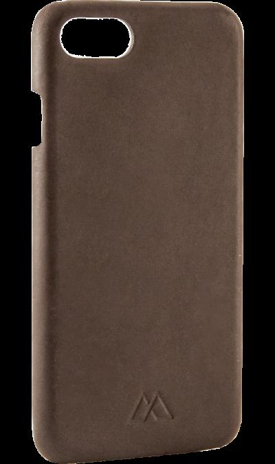 Чехол-крышка Moodz Design для Apple iPhone 7, кожа / пластик, бронзовый (Soft Cover)Чехлы и сумочки<br>Чехол Moodz Design поможет не только защитить ваш iPhone 7 от повреждений, но и сделает обращение с ним более удобным, а сам аппарат будет выглядеть еще более элегантным.<br><br>Colour: Коричневый