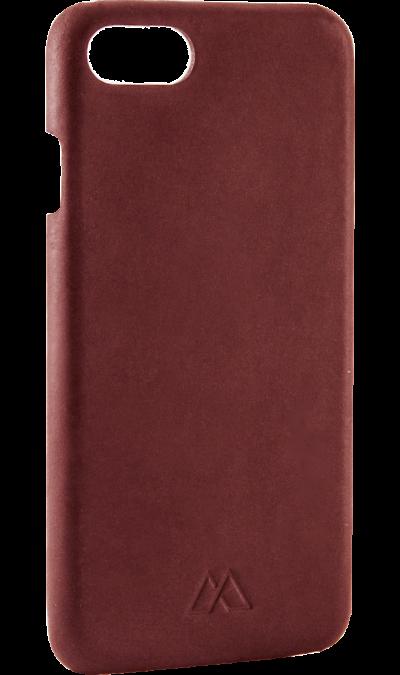 Moodz Design Чехол-крышка Moodz Design для Apple iPhone 7/8, кожа / пластик, красный (Soft Cover) apple чехол крышка apple mqha2zm для apple iphone 7 8 кожа красный