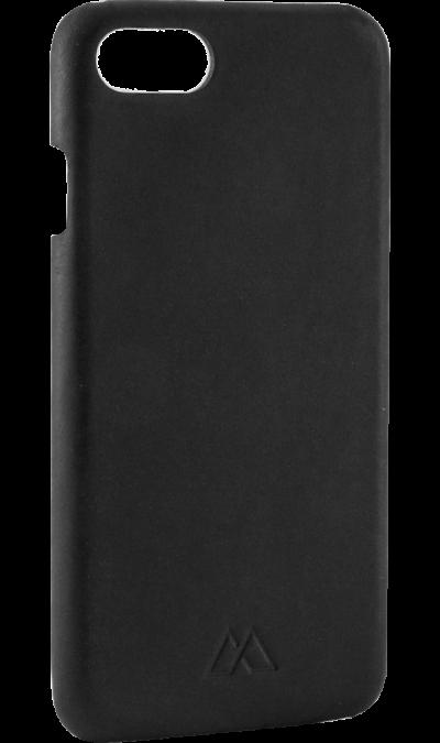 Moodz Design Чехол-крышка Moodz Design для Apple iPhone 7/8, кожа / пластик, черный (Soft Cover)