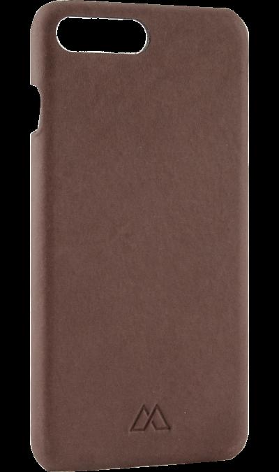 Чехол-крышка Moodz Design для Apple iPhone 7 Plus/8 Plus, кожа / пластик, коричневый (Soft Cover)Чехлы и сумочки<br>Чехол Moodz Design поможет не только защитить ваш iPhone 7 Plus от повреждений, но и сделает обращение с ним более удобным, а сам аппарат будет выглядеть еще более элегантным.<br><br>Colour: Коричневый