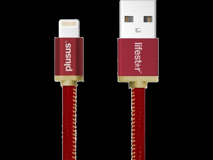 Кабель Lifestar Plusus LS USB-Lightning (красный)