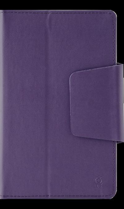 Чехол-книжка VIVACASE VUC-C08 универсальный 7, кожзам, фиолетовыйЧехлы и сумочки<br>Удобный чехол для устройств с диагональю 7 поможет не только защитить ваш смартфон от повреждений, но и сделает обращение с ним более удобным, а сам аппарат будет выглядеть еще более элегантным.<br><br>Colour: Фиолетовый