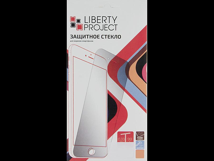 Защитное стекло Liberty Project для Apple iPhone 6 Plus/6S Plus ( с белой рамкой)
