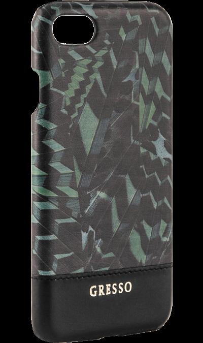 Gresso Чехол-крышка Gresso Коллекция Тропики для Apple iPhone 6/6S, пластик, зеленый доска разделочная с ручкой mensa quelle dosh home 1026514