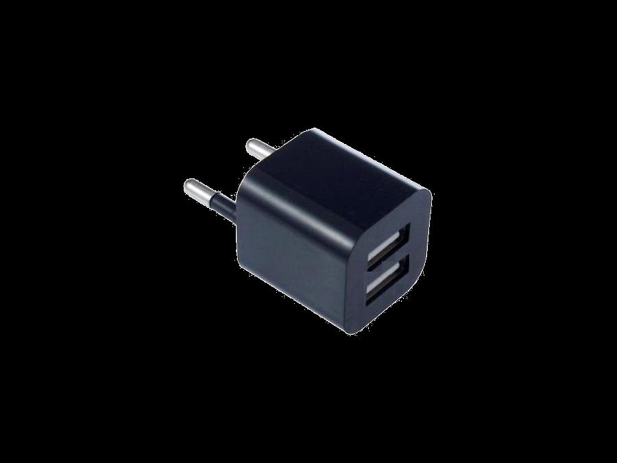 Зарядное устройство сетевое Oxion (2 USB разъема)