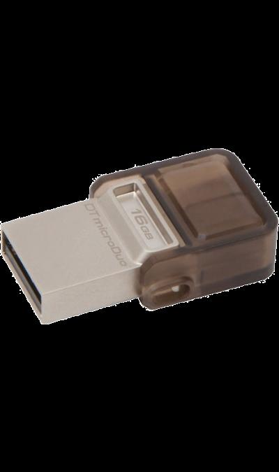 Флэш-накопитель Kingston TechnologyДругие устройства<br>Флэш-накопитель для записи, чтения и хранения данных.<br><br>Colour: Черный