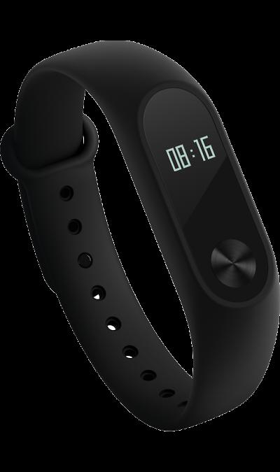 Xiaomi Mi Band 2Фитнес-устройства<br>Время, количество шагов, сердечный ритм.<br>Информация, которая всегда под рукой. <br>Новый фитнес-браслет Xiaomi Mi Band 2 оснащен OLED-дисплеем, который отображает текущее время, количество шагов, сердечный пульс, пройденное расстояние, количество сожженных калорий и другие данные. Для перемещения по меню предусмотрена специальная кнопка управления. Для максимального удобства новый Mi Band 2 оснастили функцией бесконтактного управления, благодаря которой дисплей автоматически отображает ...<br><br>Colour: Черный