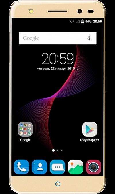 ZTE Blade V7 lite LTE GoldСмартфоны<br>2G, 3G, 4G, Wi-Fi; ОС Android; Дисплей сенсорный емкостный 16,7 млн цв. 5; Камера 13 Mpix, AF; Разъем для карт памяти; MP3, FM,  GPS; Вес 137 г.<br><br>Colour: Золотистый
