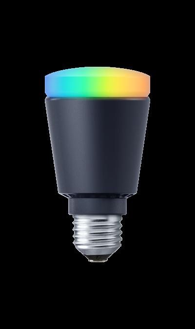 Умная лампа Life Control MCLH-02 (черная)Умный дом<br>Светлая сторона жизни.<br>Светодиодная умная лампа позволяет удаленно управлять освещением и может работать в связке с другими датчиками, например, включаться, когда срабатывает датчик движения. С ней вы можете подстраивать освещение под время суток, ситуацию или настроение.<br><br>В выгодном свете.<br>Свет - один из главных элементов интерьера: он может скрывать несовершенства и подчеркивать красоту вашего дома. С умной лампой вы сами устанавливаете теплый или холодный свет, ...<br><br>Colour: Черный