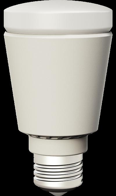 Умная лампа Life Control MCLH-02 (белая)Умный дом<br>Светлая сторона жизни.<br>Светодиодная умная лампа позволяет удаленно управлять освещением и может работать в связке с другими датчиками, например, включаться, когда срабатывает датчик движения. С ней вы можете подстраивать освещение под время суток, ситуацию или настроение.<br><br>В выгодном свете.<br>Свет - один из главных элементов интерьера: он может скрывать несовершенства и подчеркивать красоту вашего дома. С умной лампой вы сами устанавливаете теплый или холодный свет, ...<br><br>Colour: Белый
