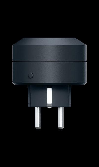 Умная розетка Life Control MCLH-03 (черная)Умный дом<br>Энергетика вашего дома.<br>Умная розетка помогает вам контролировать бытовые электроприборы и их энергопотребление. Это один из ключевых элементов вашего умного дома.<br><br>Всегда наготове.<br>С помощью умной розетки вы можете дистанционно включать и выключать любые бытовые электроприборы, подключенные к ней. Например, вы всегда сможете отключить утюг, если не сделали этого перед уходом.<br><br>Не видит препятствий.<br>Устройства Life Control работают на ...<br><br>Colour: Черный
