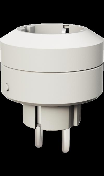 Умная розетка Life Control MCLH-03 (белая)Умный дом<br>Энергетика вашего дома.<br>Умная розетка помогает вам контролировать бытовые электроприборы и их энергопотребление. Это один из ключевых элементов вашего умного дома.<br><br>Всегда наготове.<br>С помощью умной розетки вы можете дистанционно включать и выключать любые бытовые электроприборы, подключенные к ней. Например, вы всегда сможете отключить утюг, если не сделали этого перед уходом.<br><br>Не видит препятствий.<br>Устройства Life Control работают на ...<br><br>Colour: Белый