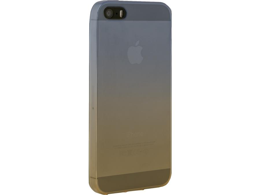 Чехол-крышка CASE для iPhone 5/5S, силикон, прозрачный