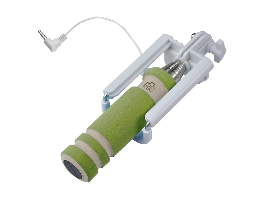 Монопод RedLine Mini RLBT-05 с проводом jack 3,5 (зеленый)