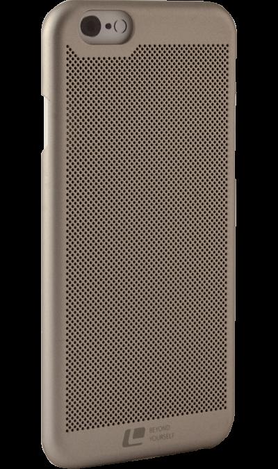 Чехол-крышка Loopee для Apple iPhone 6, пластик, золотой фото