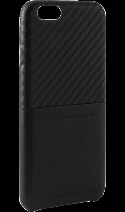 X-level Чехол-крышка X-level для Apple iPhone 6, кожзам, черный чехол для iphone interstep для iphone x soft t metal adv красный