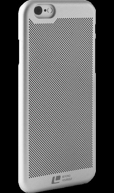 Чехол-крышка Loopee для Apple iPhone 6, пластик, серебристыйЧехлы и сумочки<br>Чехол-крышка для iPhone 6 - придаст индивидуальность вашему телефону!<br>