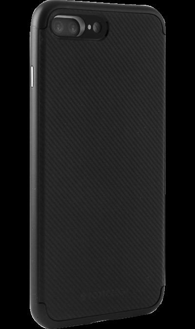 Чехол-крышка Totu для Apple iPhone 7 Plus/8 Plus, пластик / резина, черныйЧехлы и сумочки<br>Чехол-крышка для iPhone 7 Plus - придаст индивидуальность вашему телефону!<br><br>Colour: Черный