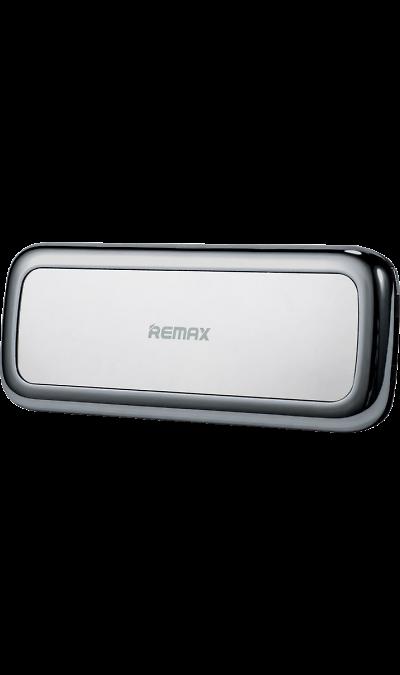 Аккумулятор Remax Mirror, 5500 мАч, серебристый (портативный)Аккумуляторы внешние<br>Резервный аккумулятор Remax - устройство, предназначенное для зарядки портативных устройств без помощи электрической сети. Особенно актуален для путешественников и туристов в местах, где невозможен или ограничен доступ к электроэнергии. Резервный аккумулятор подходит для портативных устройств, таких как смартфоны, планшеты, мобильные телефоны и МР3-плееры.<br><br>Colour: Серебристый