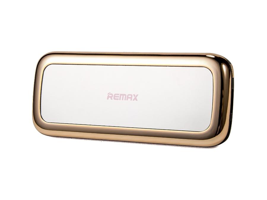 Аккумулятор Remax Mirror, 5500 мАч, золотистый (портативный)