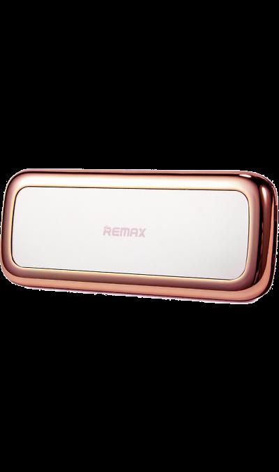Аккумулятор Remax Mirror, 5500 мАч, розовый (портативный)Аккумуляторы внешние<br>Резервный аккумулятор Remax - устройство, предназначенное для зарядки портативных устройств без помощи электрической сети. Особенно актуален для путешественников и туристов в местах, где невозможен или ограничен доступ к электроэнергии. Резервный аккумулятор подходит для портативных устройств, таких как смартфоны, планшеты, мобильные телефоны и МР3-плееры.<br><br>Colour: Розовый
