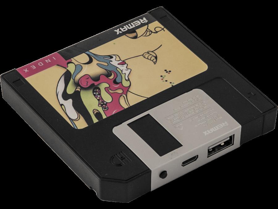 Аккумулятор Remax Disk, 5000 мАч, черный (портативный)