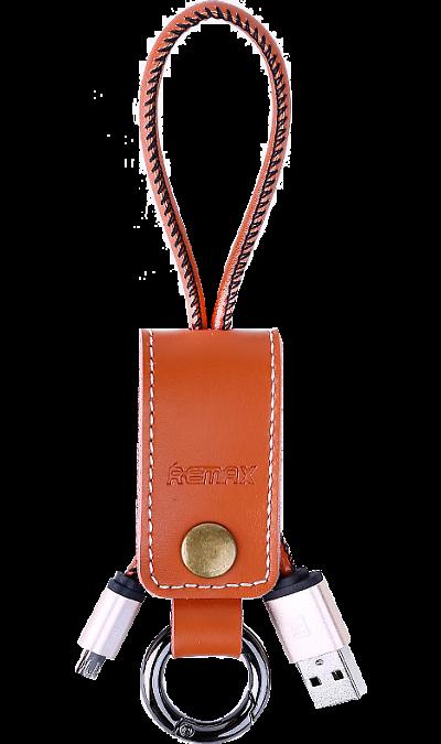 Кабель Remax 034i USB-microUSB (коричневый)Кабели и адаптеры<br>Кабель для соединения через USB-порт ноутбука или компьютера с телефонами, плеерами, фотоаппаратами, картридерами или другими устройствами  имеющими micro USB коннекторы.<br><br>Colour: Коричневый