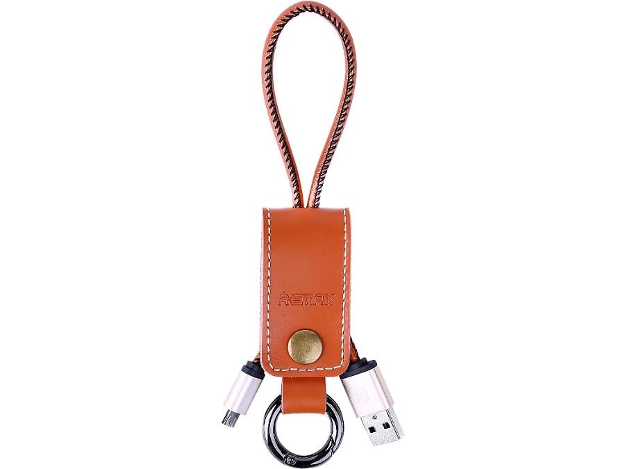 Кабель Remax 034i USB-microUSB (коричневый)