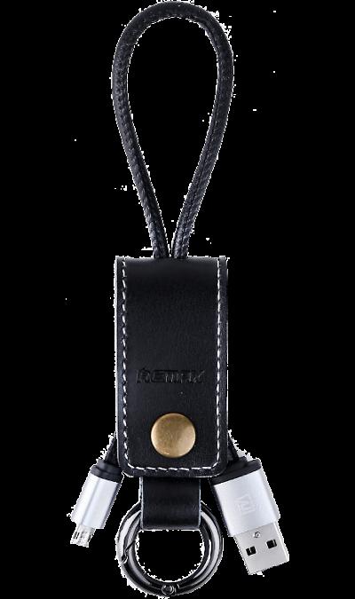 Кабель Remax 034i USB-microUSB (черный)Кабели и адаптеры<br>Кабель для соединения через USB-порт ноутбука или компьютера с телефонами, плеерами, фотоаппаратами, картридерами или другими устройствами  имеющими micro USB коннекторы.<br><br>Colour: Черный