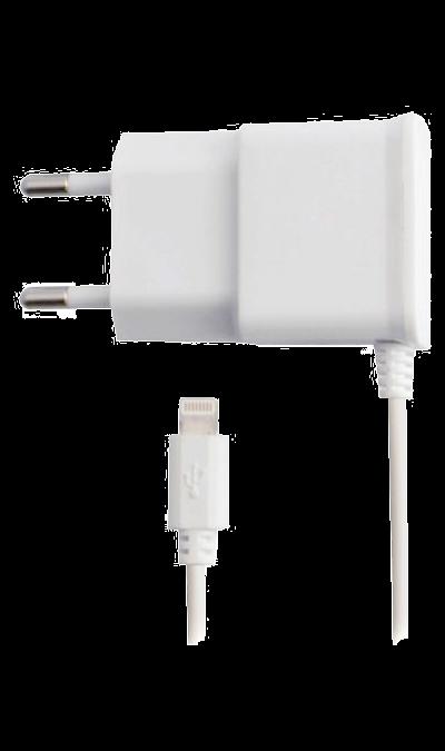 Зарядное устройство сетевое Oxion ACA-002 lightningЗарядные устройства<br>Сетевое зарядное устройство можно использовать для зарядки аппаратов компании Apple с разъемом Lightning.<br><br>Colour: Черный