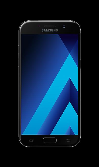 Samsung Samsung Galaxy A5 (2017) SM-A520F черный чехол для samsung galaxy a5 2017 sm a520f skinbox силиконовая накладка пудра