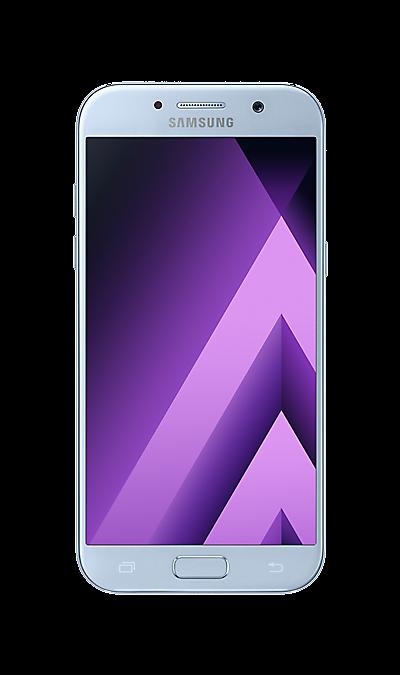 Samsung Samsung Galaxy A5 (2017) SM-A520F синий чехол для samsung galaxy a5 2017 sm a520f skinbox силиконовая накладка пудра