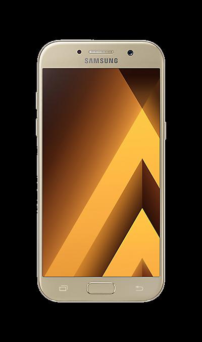 Samsung Galaxy A5 (2017) SM-A520F золотистыйСмартфоны<br>2G, 3G, 4G, Wi-Fi; ОС Android; Дисплей сенсорный емкостный 16,7 млн цв. 5.2; Камера 16 Mpix, AF; Разъем для карт памяти; MP3, FM,  BEIDOU / GPS / ГЛОНАСС; Повышенная защита корпуса; Вес 159 г.<br><br>Colour: Золотистый