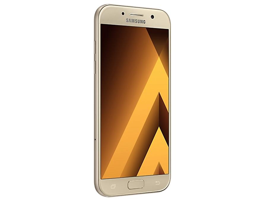 Фото Samsung Galaxy A5 (2017) SM-A520F золотистый. Купить в РФ
