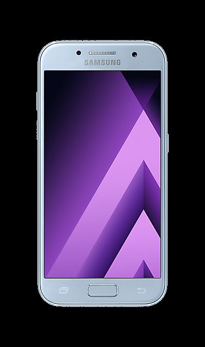 Samsung Galaxy A3 (2017) SM-A320F синийСмартфоны<br>2G, 3G, 4G, Wi-Fi; ОС Android; Дисплей сенсорный емкостный 16,7 млн цв. 4.7; Камера 13 Mpix, AF; Разъем для карт памяти; MP3, FM,  GPS / ГЛОНАСС; Вес 138 г.<br><br>Colour: Синий