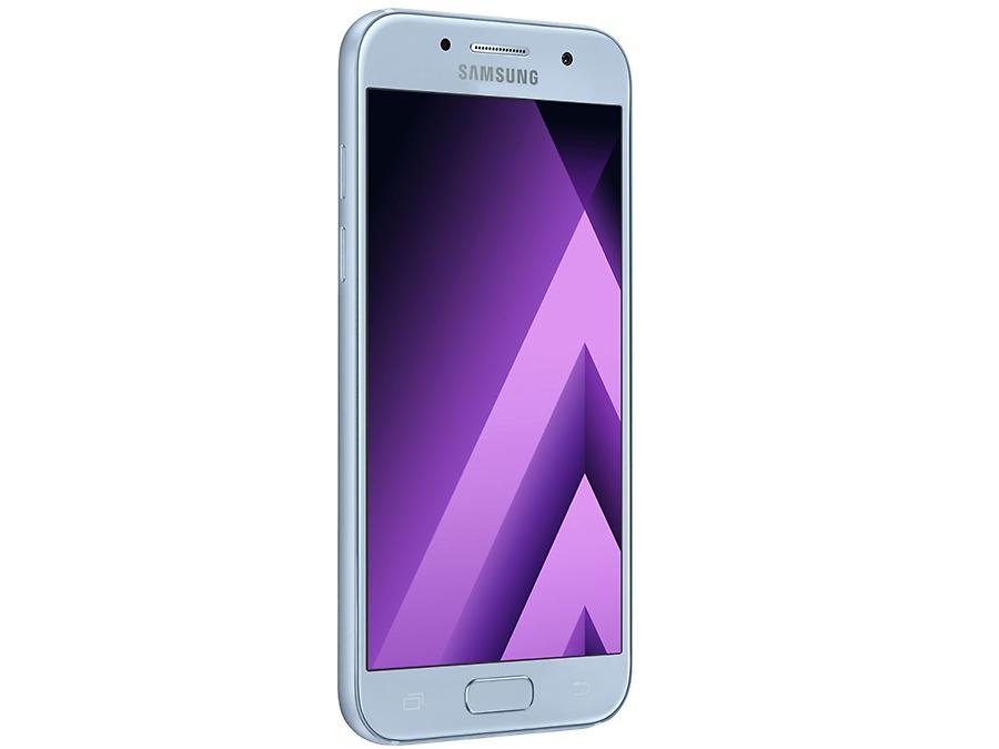 Фото Samsung Galaxy A3 (2017) SM-A320F синий. Купить в РФ