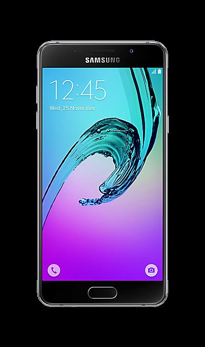 Samsung Samsung Galaxy A5 (2016) SM-A510F черный чехол для samsung galaxy a5 2016 sm a510f acqua wallet extra золотистый