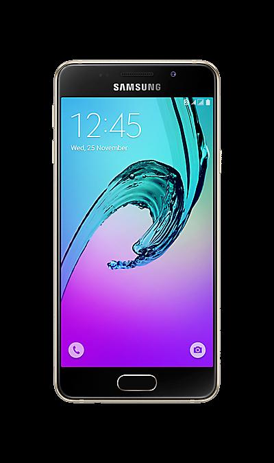Samsung Galaxy A3 (2016) золотистыйСмартфоны<br>2G, 3G, 4G, Wi-Fi; ОС Android; Дисплей сенсорный емкостный 16,7 млн цв. 4.7; Камера 13 Mpix, AF; Разъем для карт памяти; MP3, FM,  GPS / ГЛОНАСС; Вес 132 г.<br><br>Colour: Золотистый