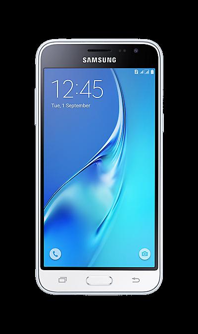 Samsung Galaxy J3 (2016) SM-J320F/DSСмартфоны<br>2G, 3G, 4G, Wi-Fi; ОС Android; Дисплей сенсорный емкостный 16,7 млн цв. 5; Камера 8 Mpix, AF; Разъем для карт памяти; MP3, FM,  GPS / ГЛОНАСС; Вес 138 г.<br><br>Colour: Белый