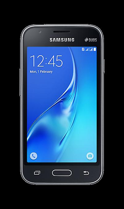Samsung Galaxy J1 Mini SM-J105H черныйСмартфоны<br>2G, 3G, Wi-Fi; ОС Android; Дисплей сенсорный емкостный 16,7 млн цв. 4; Камера 5 Mpix; Разъем для карт памяти; MP3, FM,  GPS / ГЛОНАСС; Вес 123 г.<br><br>Colour: Черный
