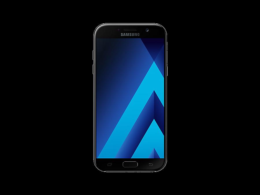 Фото Samsung Galaxy A7 (2017) SM-A720F черный. Купить в РФ
