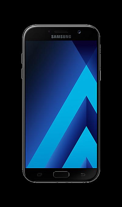 Samsung Samsung Galaxy A7 (2017) SM-A720F черный аксессуар чехол samsung galaxy tab a 7 sm t285 sm t280 it baggage мультистенд black itssgta74 1