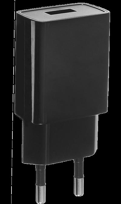 Зарядное устройство сетевое  WTCU4 (1 USB разъем)Зарядные устройства<br>Сетевое зарядное устройство WTCU4 можно использовать для зарядки аккумуляторов аппаратов с разъемом microUSB. USB кабель в комплект не входит.<br><br>Colour: Черный