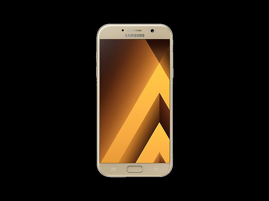 Samsung Смартфон Samsung Galaxy A7 (2017) SM-A720F Gold + аксессуары на выбор samsung galaxy a7 2016 sm a710f gold