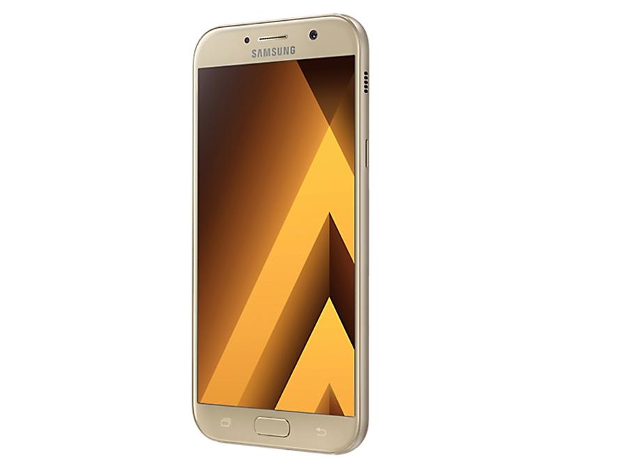 Фото Samsung Galaxy A7 (2017) SM-A720F золотистый. Купить в РФ