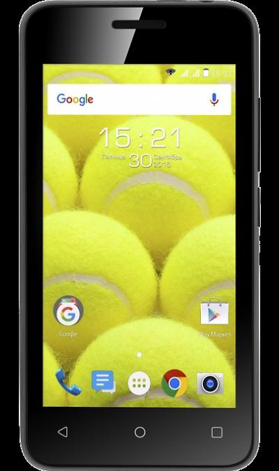Fly FS407 Stratus 6Смартфоны<br>2G, 3G, Wi-Fi; ОС Android; Камера 2 Mpix; Разъем для карт памяти; MP3, FM; Время работы 100 ч. / 5.0 ч.; Вес 110 г.<br><br>Colour: Черный