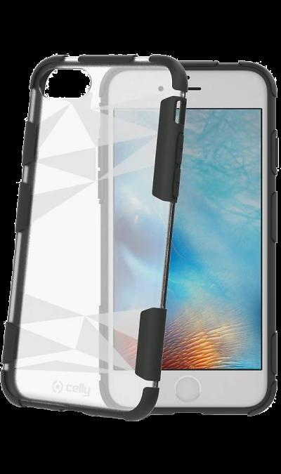 CELLY Чехол-крышка CELLY Prysma для Apple iPhone 7/8, пластик, прозрачный аксессуар чехол celly air pelle для apple iphone 7 black airpelle800bk